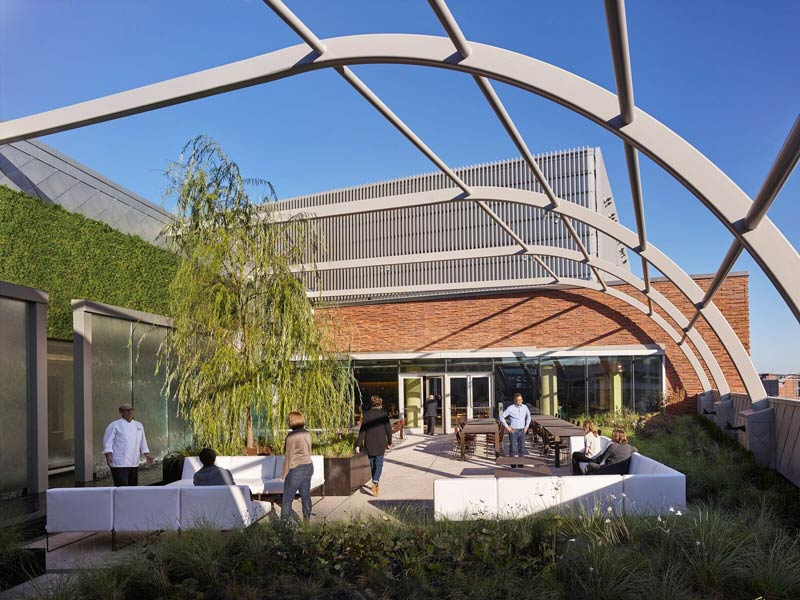 Rooftop Biblical Gardens at the Museum of the Bible - Top outdoor meeting spaces and event venues in Washington, DC