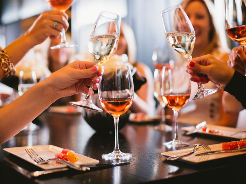 Guests dining at RPM Italian - Where to eat and drink in DC's Mount Vernon Square neighborhood