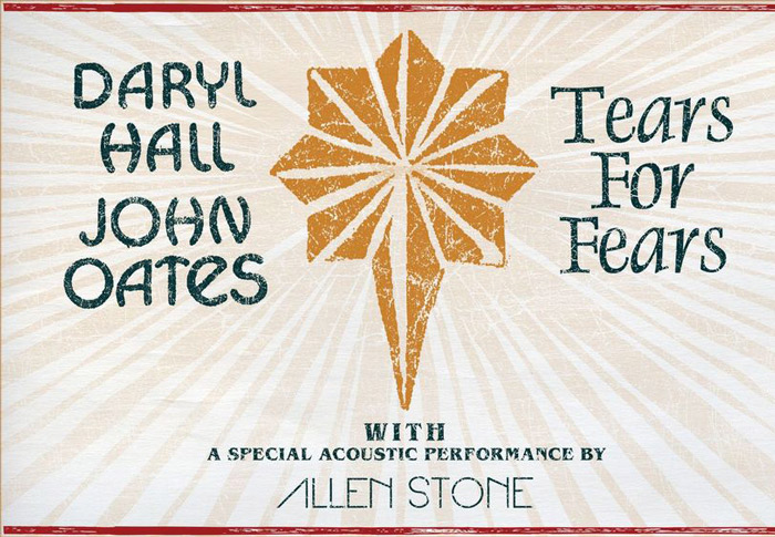 Daryl Hall & John Oates and Tears for Fears – June 26 at the Verizon Center - Concerts in Washington, DC