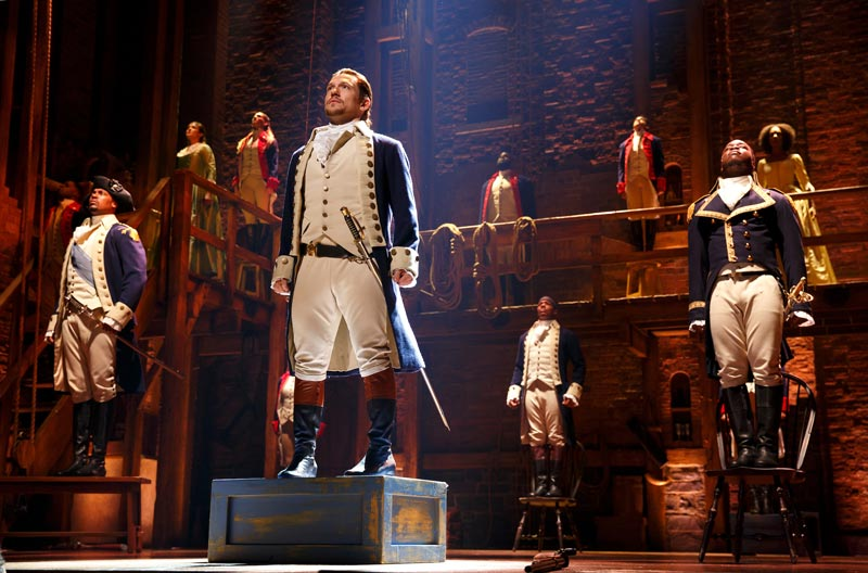 Lin-Manuel Miranda's 'Hamilton' at the John F. Kennedy Center for the Performing Arts in Washington, DC