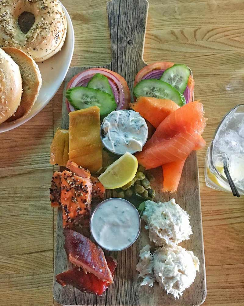@hangrymichelle - Smoked fish board at the Tavern at Ivy City Smokehouse - Best places to eat in DC's Ivy City