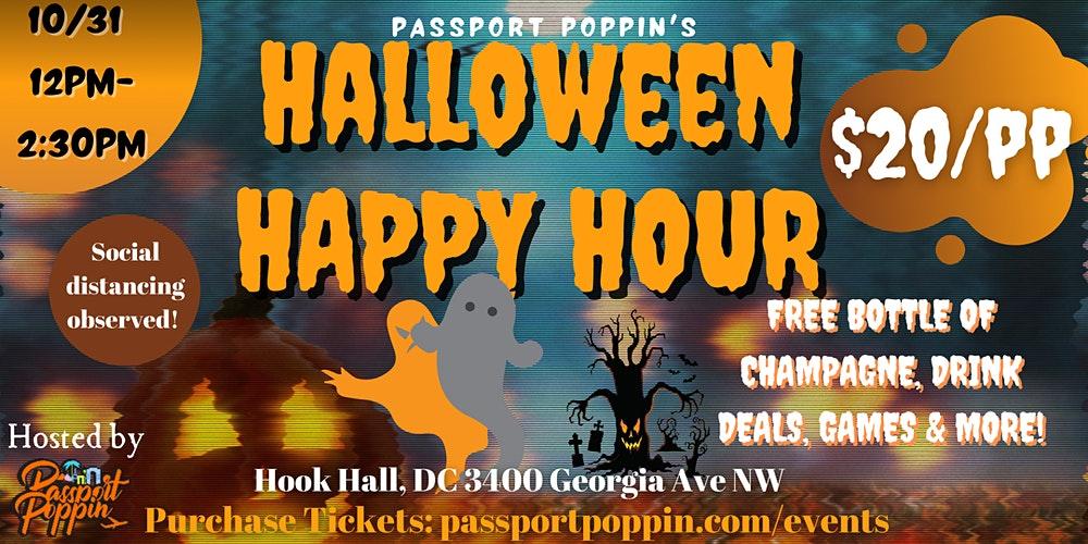 Hook Hall Halloween Happy Hour