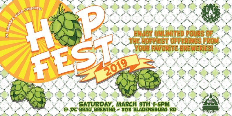 HopFest 2019 event at DC Brau Brewing Company - Beer-focused event in Washington, DC