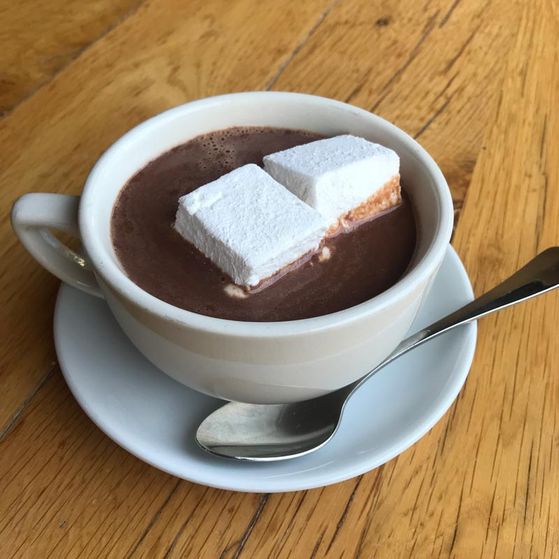 Hot chocolate from Mintwood Place - Where to get the best hot chocolate in Washington, DC