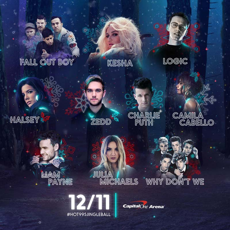 Hot 99.5 Jingle Ball at Capital One Arena - Holiday Concert in Washington, DC