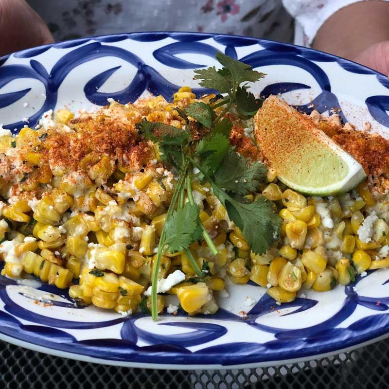 @hungrytravelist - Mexican elote street corn - Summer food trends in Washington, DC
