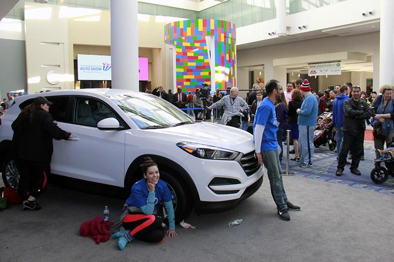 Hyundai Hands on Contest at Washington Auto Show