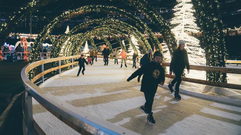 Ice Skating at Enchant Christmas - Reasons to Experience Enchant