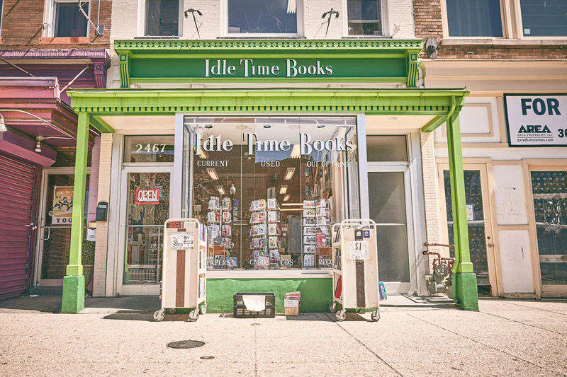 Idle Time Books in Adams Morgan - Things to See and Do in Adams Morgan - Washington, DC