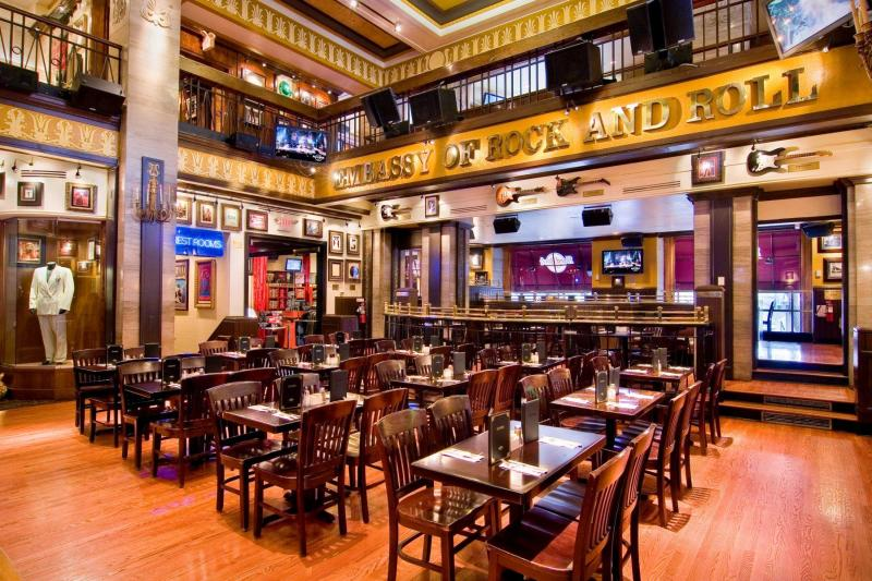 Hard Rock Cafe Menu Ac