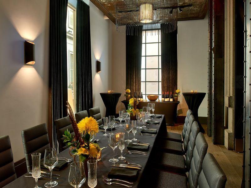 Kimpton hotel monaco washington dc for Best private dining rooms washington dc