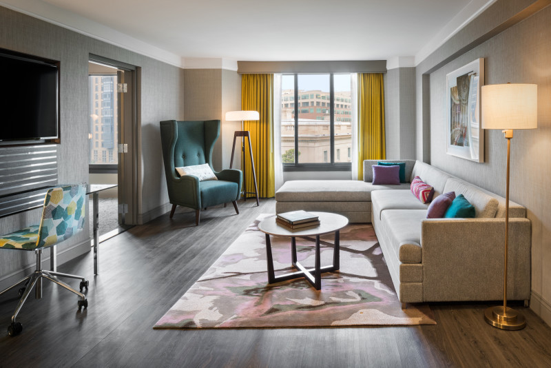 The darcy curio collection by hilton for 3 bedroom suites in washington dc