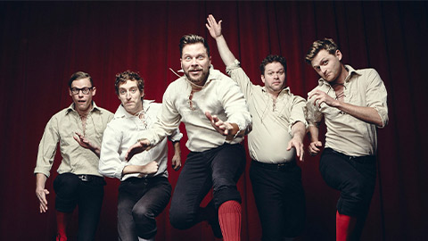The Improvised Shakespeare Company at the Kennedy Center - Fall theater in Washington, DC