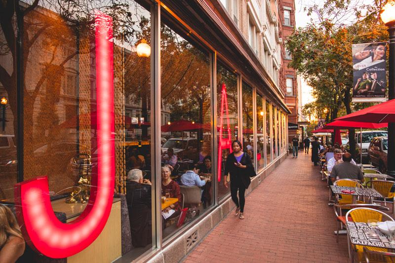 Jaleo in Penn Quarter Chinatown - José Andrés Bib Gourmand Restaurant in Washington, DC