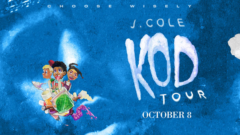 J. Cole KOD Tour at Capital One Arena - Concerts this October in Washington, DC