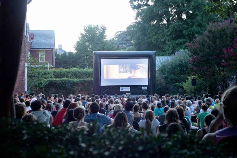 Dumbarton House Jane Austen Film Festival in Georgetown - Summer Outdoor Movies in Washington, DC