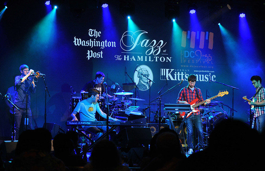Snarky Puppy concert at the Hamilton Live - DC Jazz Festival event in Washington, DC