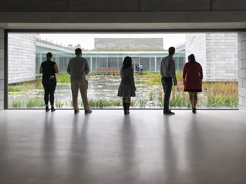 @jbano1 - Group of visitors at the Glenstone Museum in Maryland - Off-the-beaten path date ideas in Washington, DC