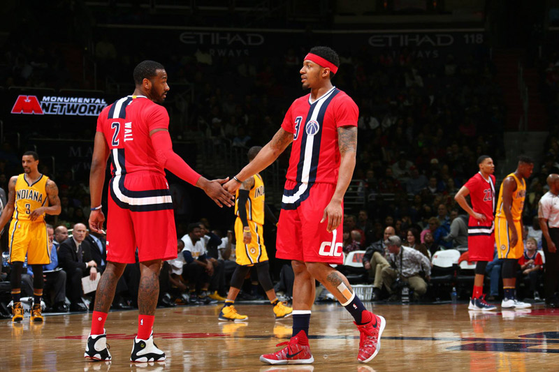Washington Wizards - John Wall & Bradley Beal - Verizon Center