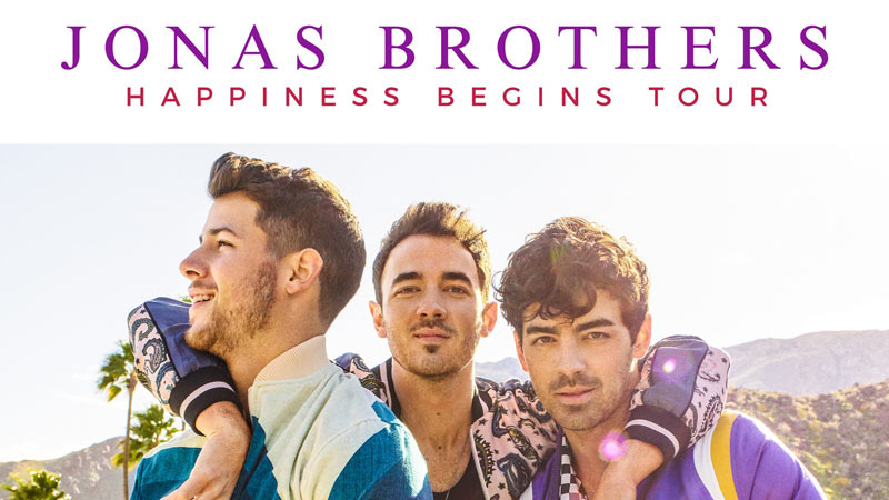 Jonas Brothers concert at the Capital One Arena - The best summer concerts in Washington, DC