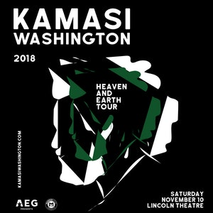 Kamasi Washington concert at Lincoln Theatre on U Street - Best fall concerts in Washington, DC