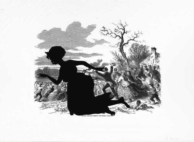 'Kara Walker: Harper's Pictorial History of the Civil War (Annotated)' - Free Museum Exhibit at the Smithsonian American Art Museum in Washington, DC