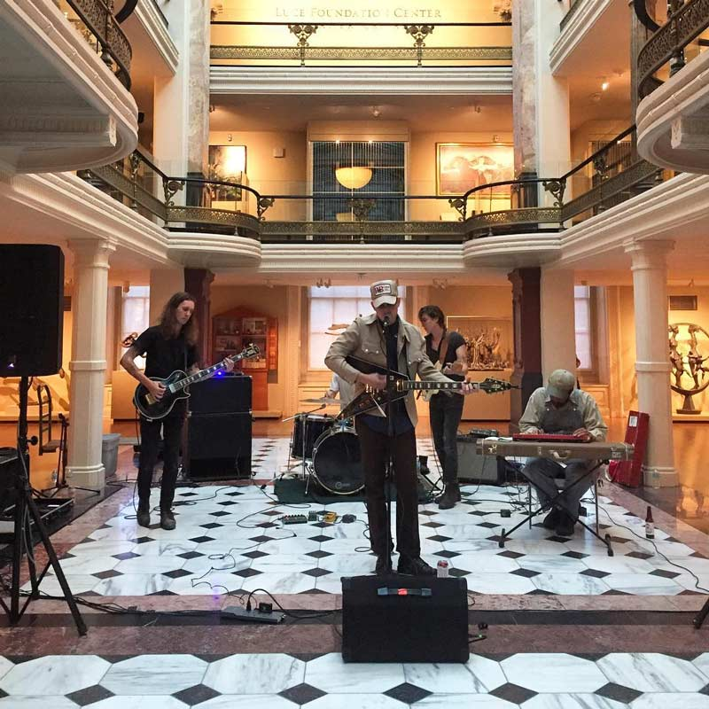 @katebydesign - Luce Unplugged free concert at the Smithsonian American Art Museum - Free performing arts in Washington, DC