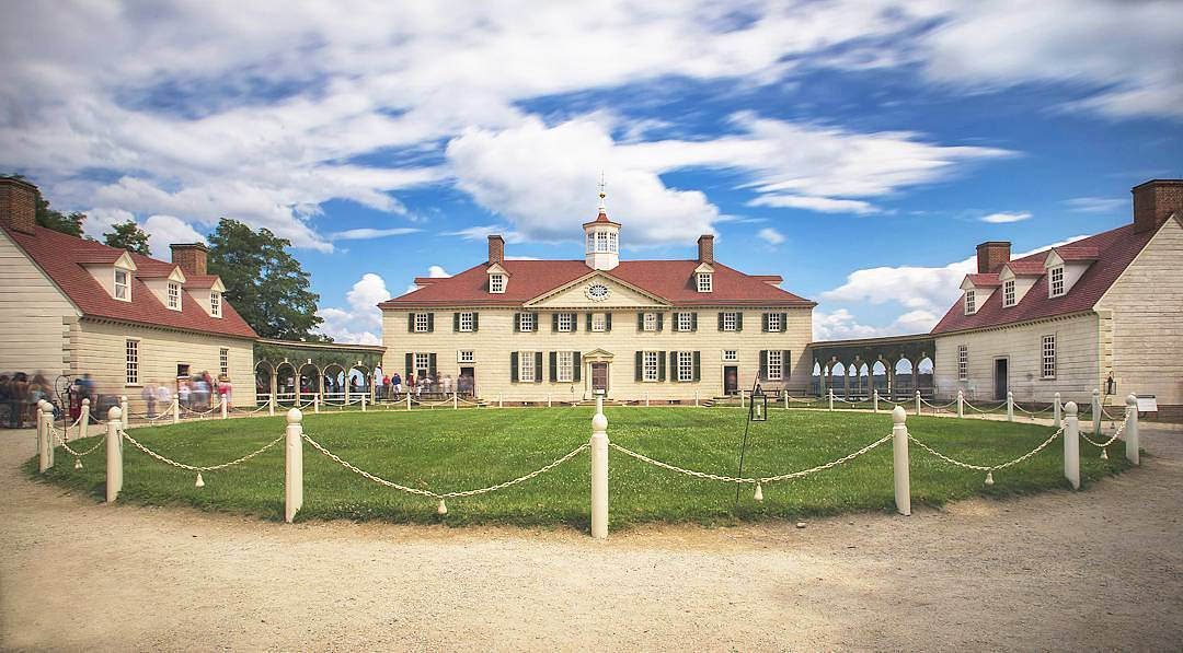@kerrentonsnow - George Washington's Mount Vernon estate in Virginia - Historic sites and landmarks near Washington, DC