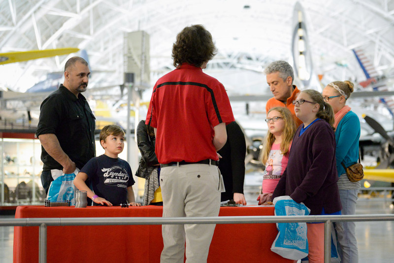 Smithsonian Sleepovers at the Air and Space Museum Udvar-Hazy Center - Family-Friendly Summer Events in Washington, DC