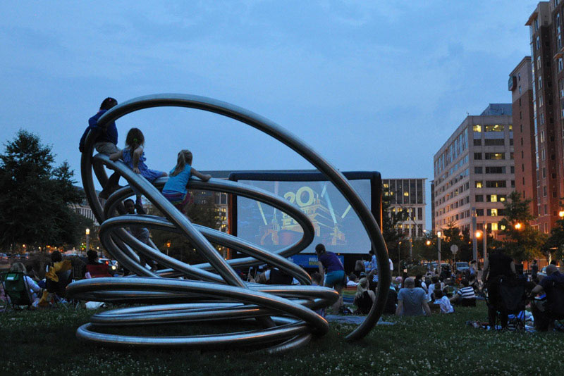 Summer Outdoor Movies on the Capitol Riverfront - Family-Friendly Summer Activities in Washington, DC