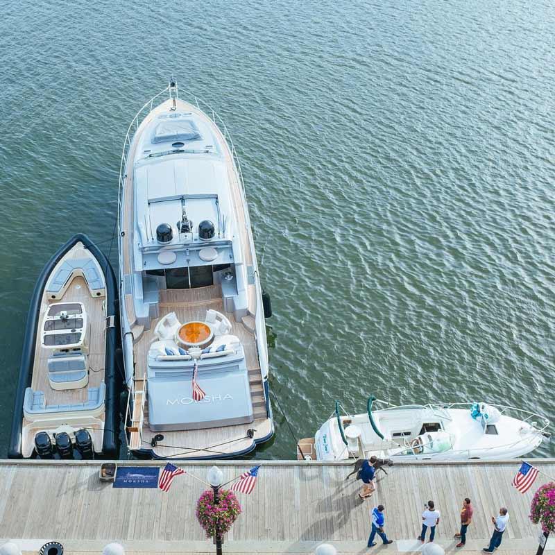 @kikyolulu - Boats docked at Washington Harbour in Georgetown - Waterfronts in Washington, DC