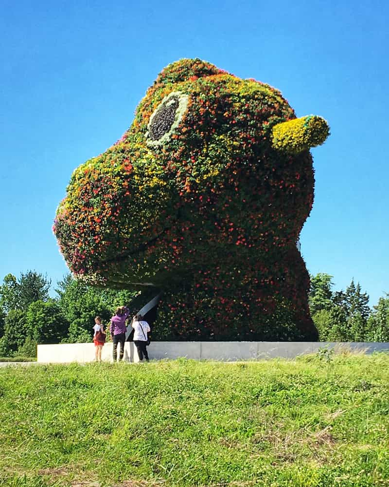 @laflaneure - Outdoor art installation at Glenstone Museum in Maryland - Free art museum near Washington, DC