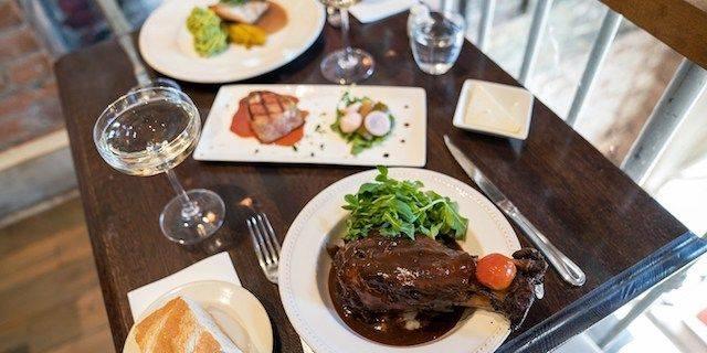 Le Grenier Dinner during Restaurant Week in Washington, DC