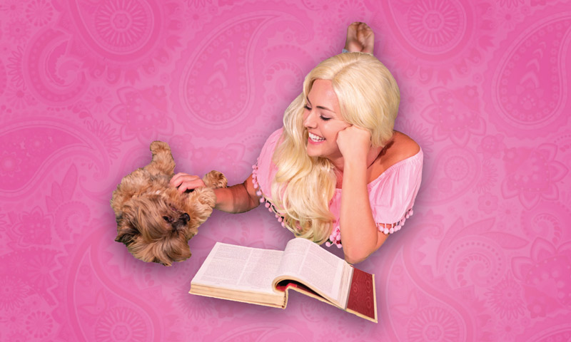Legally Blonde theater production at Keegan Theatre - Summer performing arts in Washington, DC