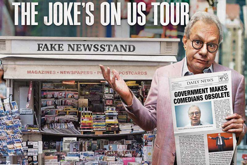Lewis Black at The Warner Theatre - Comedy in Washington, DC