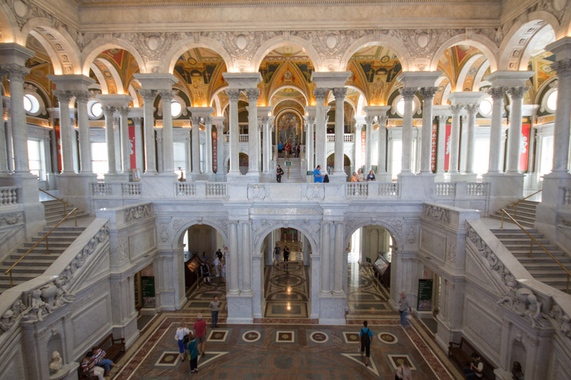 Library of Congress Great Hall - Washington, DC