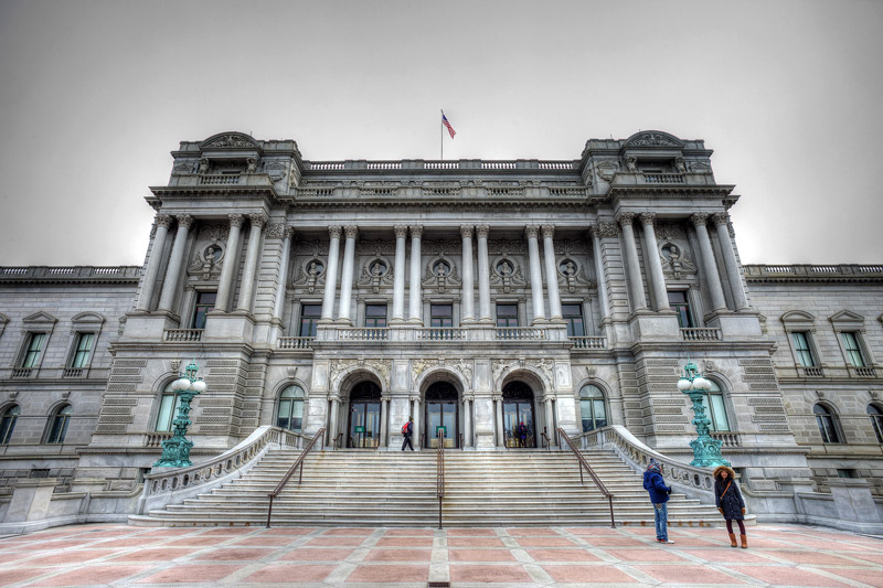 Library of Congress - Thomas Jefferson Building - Washington, DC