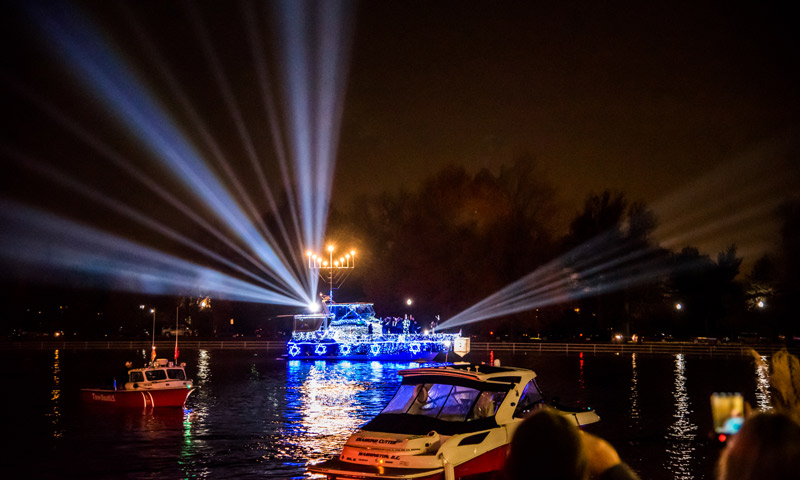 The District's Holiday Boat Parade at The Wharf - Christmas and holiday events in Washington, DC