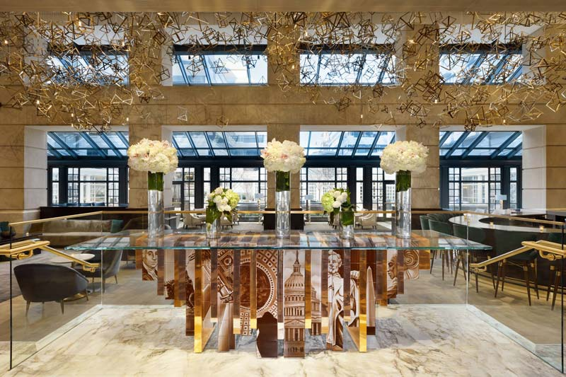 Lobby at the Fairmont Washington, D.C., Georgetown - Hotels in Washington, DC