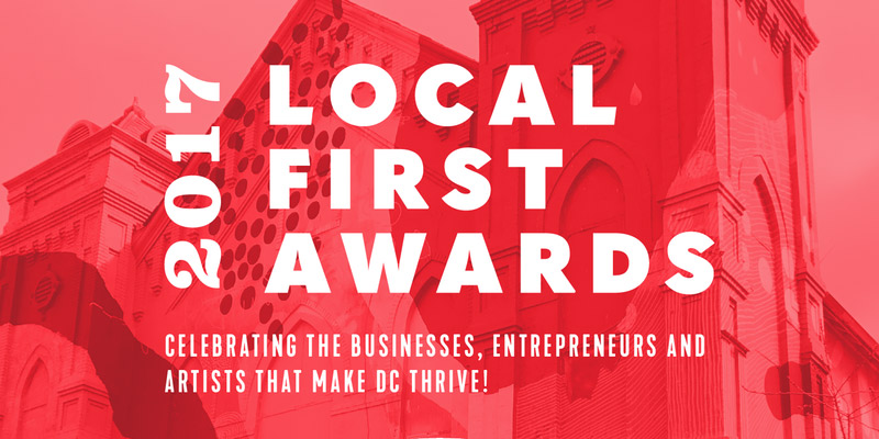 2017 Local First Awards - November Event in Washington, DC