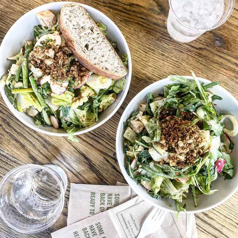@loudmouthcreative - Salads at Sweetgreen - Budget-friendly places to eat in Washington, DC