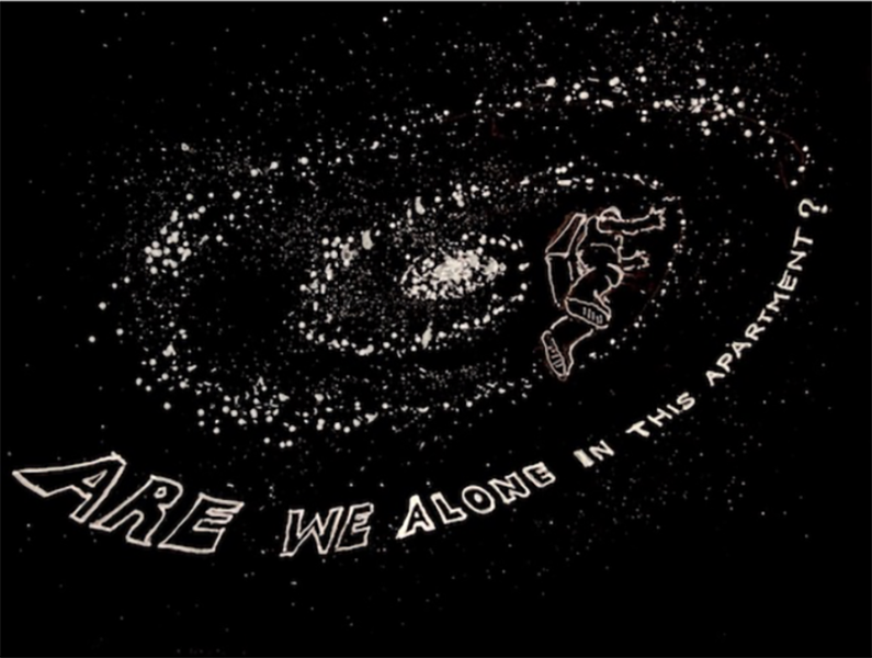 Luca Buvoli Are We Alone in this Apartment? (Astrodoubt), 2020