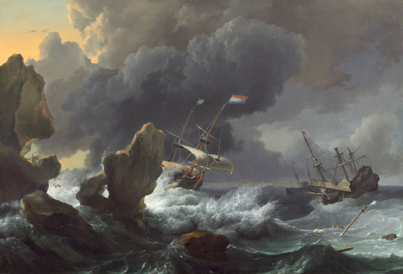 'Water, Wind, and Waves: Marine Paintings from the Dutch Golden Age' - Free art museum exhibit at the National Gallery of Art in Washington, DC