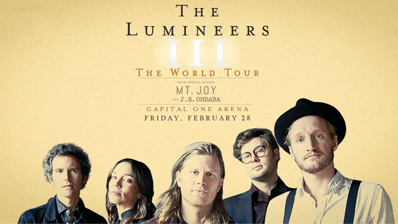Lumineers at Capital One Arena | Things to Do in Washington, DC in February