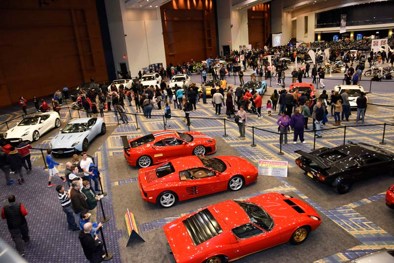Luxury and exotic cars at the Washington Auto Show - Car show this spring in Washington, DC