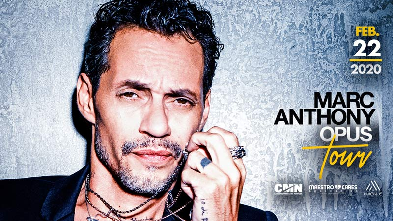 Marc Anthony at Capital One Arena | Things to Do in Washington, DC in February