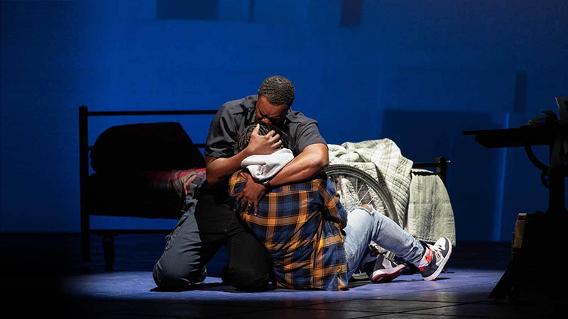 new contemporary opera, Blue, at The Kennedy Center in DC