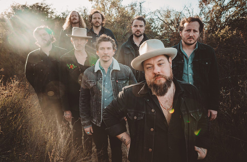 Nathaniel Rateliff and the band