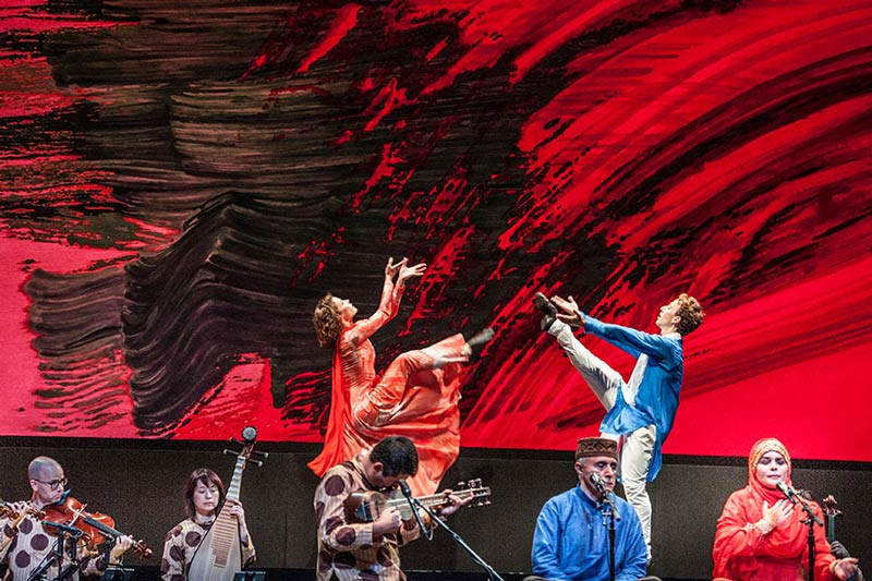 Mark Morris Dance Group and Silk Road Ensemble: 'Layla and Majnun' - Spring performing arts at the Kennedy Center in DC