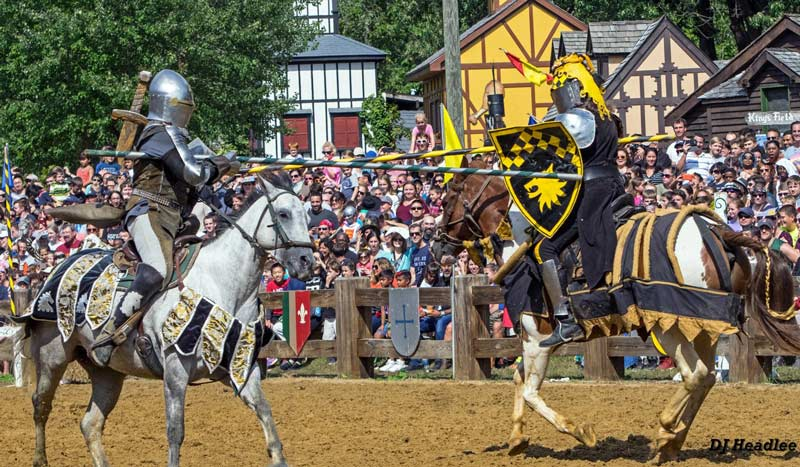 Jousting at the Maryland Renaissance Festival - Fall festivals and events near Washington, DC